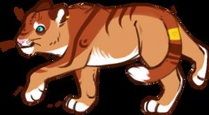Rin the Tiger by Arooooo