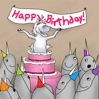 Birthday Surprise by LeeAnneKortus