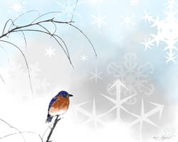 Winter Wishes of Happiness by LeeAnneKortus