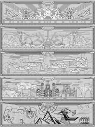 dwemer murals vol.2 by lukkar