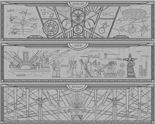 dwemer murals vol.3 by lukkar