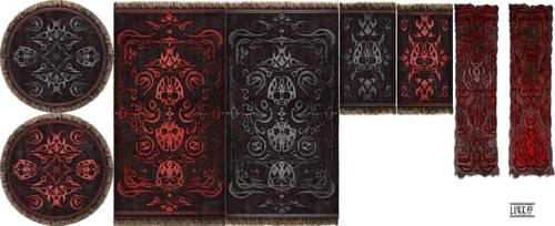 6th house rugs by lukkar
