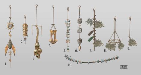 Additinal ashlanders items by lukkar