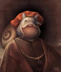 Noble snail by lukkar