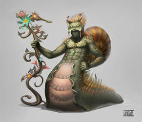 Flower power snail concept by lukkar