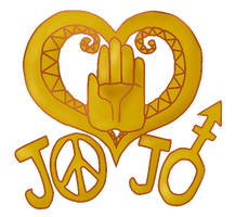 Transparent Josuke Back-of-Jacket Thingy by jellosy