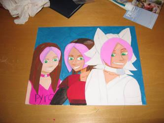 Ashleys and Starla WIP 02 by BlueRockAngel