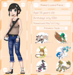 Pokemon Sun OC: Luana Paoa by TacticianXenia