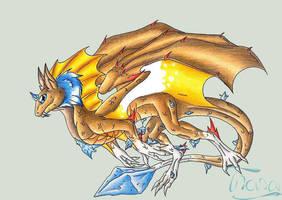 Crystal Dragon by Defonthana