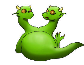 Gemini Cute Dragon by Rauchlivi