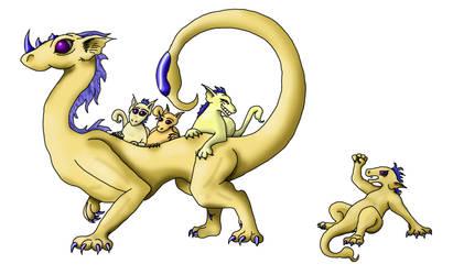 Scorpio Cute Dragon by Rauchlivi