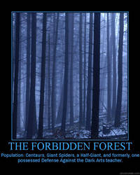 The Forbidden Forest by Balmung6