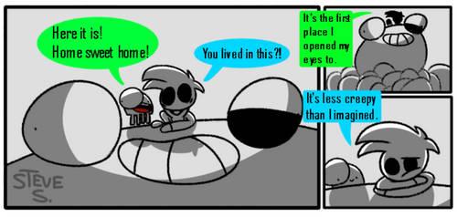 BrainDead comic #42: NoBrain's Happy House of Heck by PLPXPP