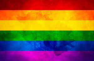 FLAG Bandera GAY Community Two by paundpro