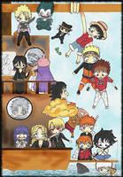 Shonen Jump Family by G3nny