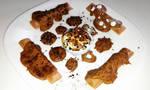 hazelnut chocolates and cream by RibbonsandClay