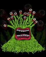 Monster illustration 2 by sologfx
