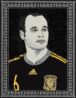 Andres Iniesta by sologfx