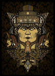Aztec Lord illustration by sologfx