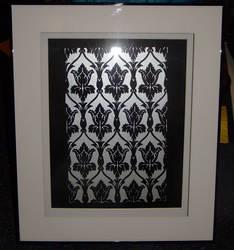 221B wallpaper papercut by Carpe-argillum