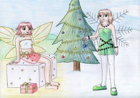 December Fairies by NormaLeeInsane