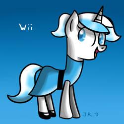 Day 10 - Wii Pony as Bubbles by TechnoPonyWardrobeDA