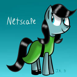 Day 28 - Netscape as Buttercup by TechnoPonyWardrobeDA