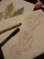 ferns. by poopbird