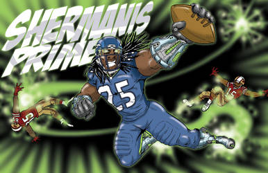 Richard Sherman 01 by TravisBundy