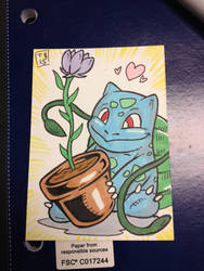 Bulbasaur sketch by TravisBundy