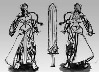 Warrior Concept #1 by kaze5115
