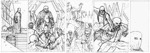 MERRICK #3 Pencils preview by future-parker