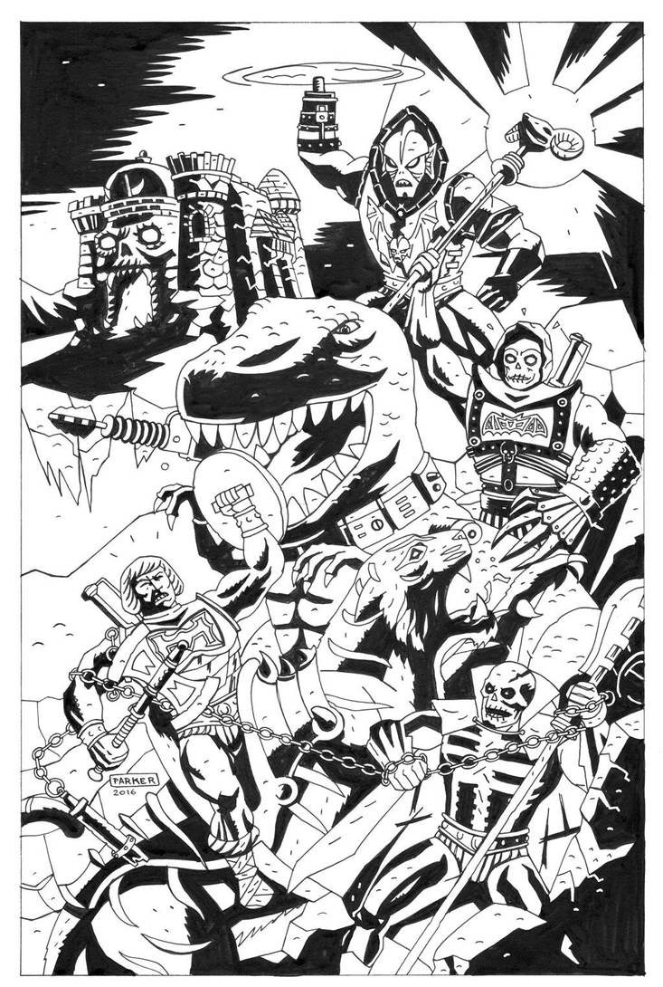 MASTERS OF THE UNIVERSE by future-parker
