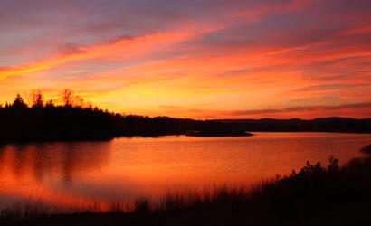 Sky on fire by blueangel676