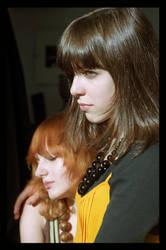 double portrait by retro-machine