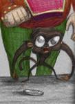 Horrible Monkey by dv-girl