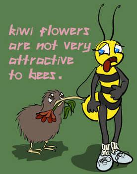 Kiwi Flowers by dv-girl