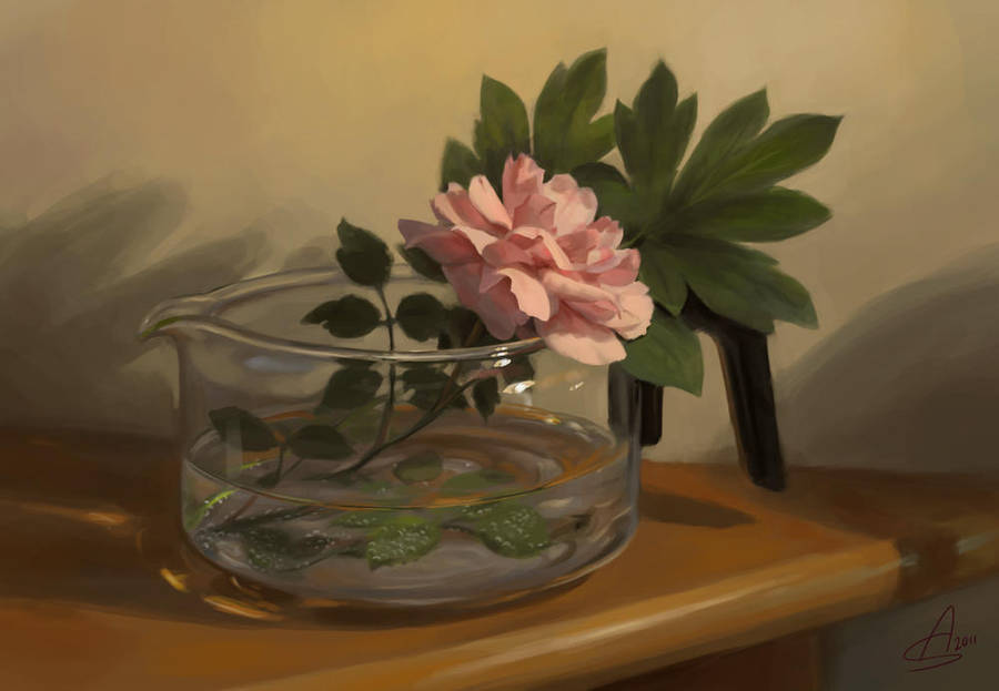 Rose Coffee by depingo
