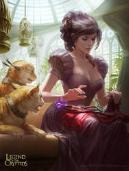 Wilhelmina, Quaint Noble by depingo