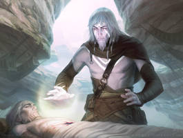 MtG Stone Haven Medic by depingo