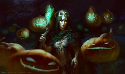Pumpkins by depingo