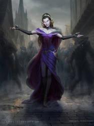 MtG Liliana, the Last Hope by depingo