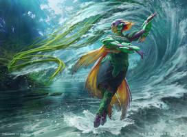 MtG Tishana, Voice of Thunder by depingo