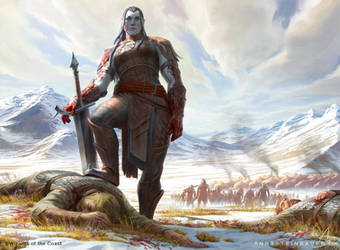 MtG Grand Warlord Radha by depingo