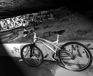 Bike Ride Graffiti by MzSquishee