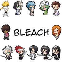 Bleach Chibi Wallpaper by shadowAerisus