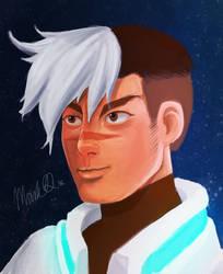 Voltron Legendary Defender: Shiro by marquerbun