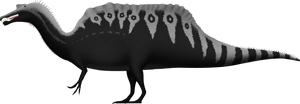 Spinosaurus aegyptiacus by SpinoInWonderland
