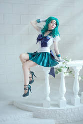 Sailor moon - Sailor Neptune by KikoLondon
