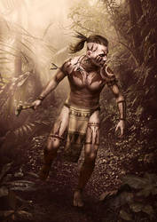 Native Warrior by VR85
